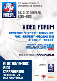Video Forum Minibasket AMEBAL. Gabriel Alvaro