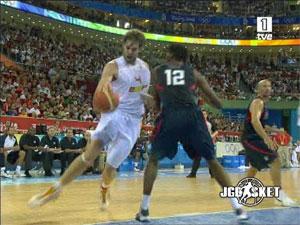Video Resumen USA - España. Beijing 08
