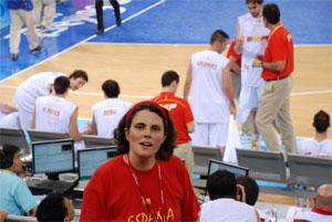 Olimpiadas Beijing 08, baloncesto. En primera persona