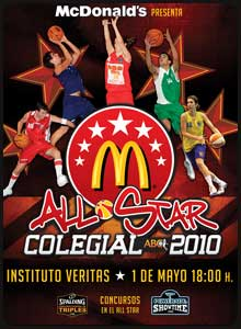 All Star. Copa Colegial ABC 2010