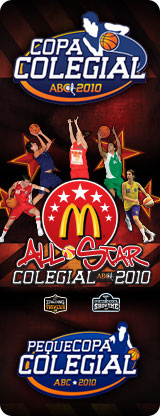 Copa Colegial ABC 2010. All Star. Baloncesto Madrid