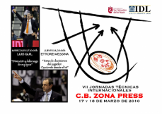 VII Clinic Internacional Baloncesto Zona Press. Ettore Messina y Luis Guil